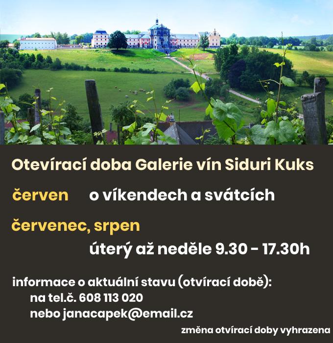 Siduri - otevírací doba galerie vín