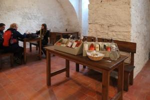 Zrekonstruovaná galerie vín